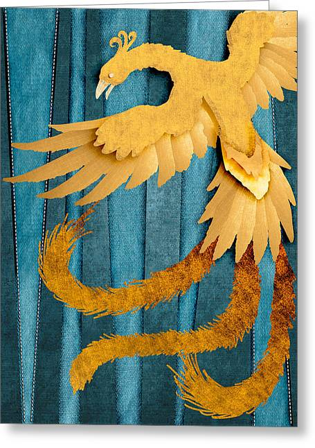 Material Fenix Greeting Card