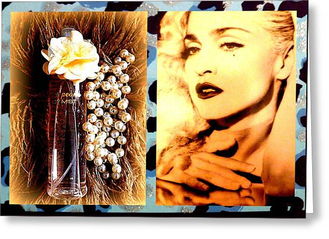 Material Girl Greeting Card by The Creative Minds Art and Photography