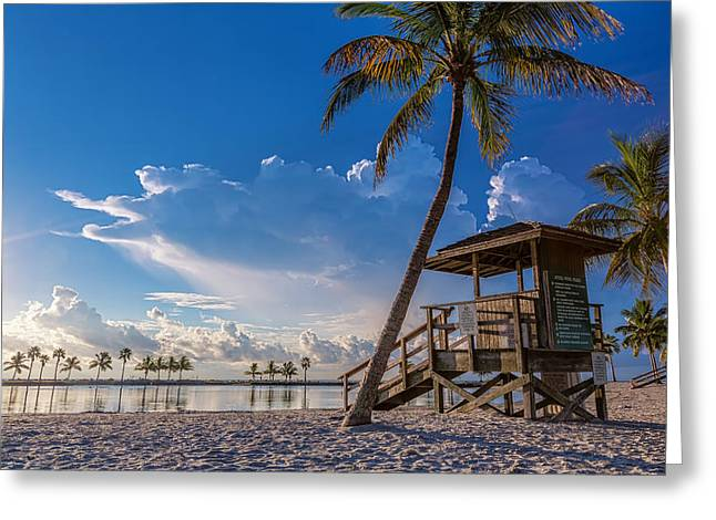 Matheson Hammock Park Atoll Greeting Card by Andres Leon