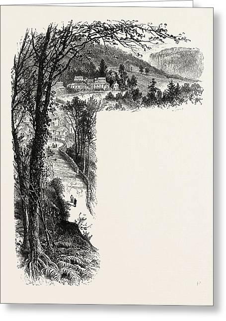 Matlock, The Dales Of Derbyshire, Uk, Uk Greeting Card