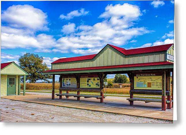 Matson Station Greeting Card by Bill Tiepelman