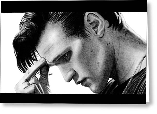 Matt Smith - The 11th Doctor Greeting Card by Kayleigh Semeniuk