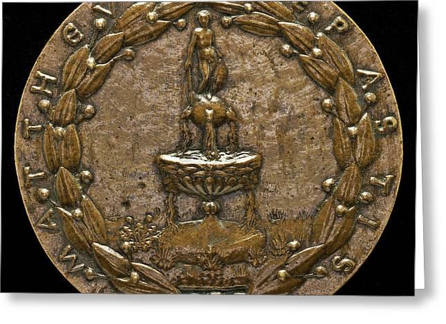 Matteo De Pasti Italian, C. 1420 - 1467-1468 Greeting Card by Quint Lox