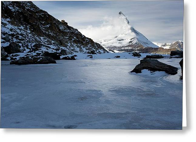 Matterhorn From Switzerland Greeting Card by Bob Gibbons