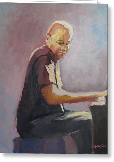 Matthew Shipp New York Pianist Greeting Card