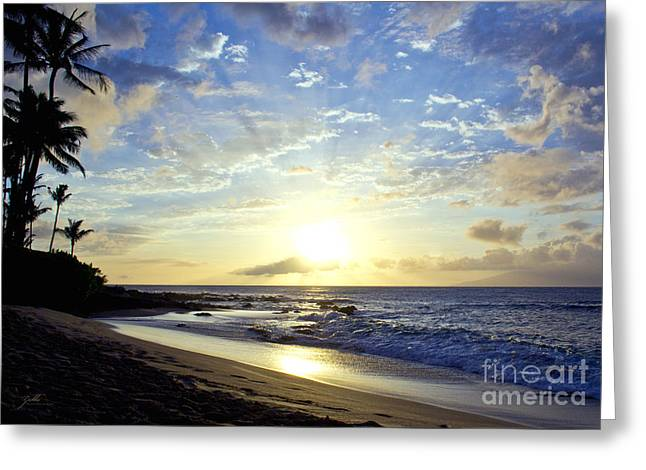Greeting Card featuring the photograph Maui Blast by Suzette Kallen