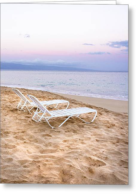 Maui Morning - Kihei Beach Sunrise - Hawaii Greeting Card