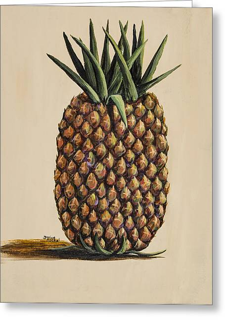 Maui Pineapple 3 Greeting Card