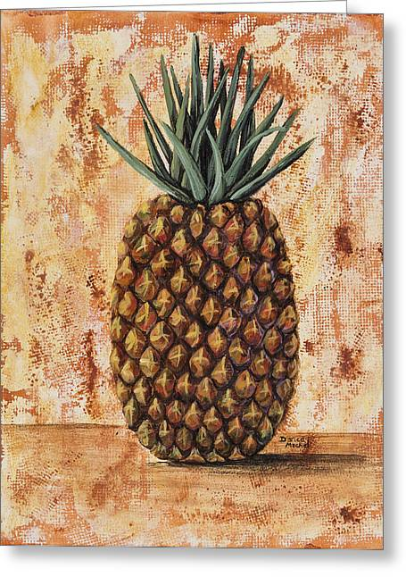 Maui Pineapple Greeting Card