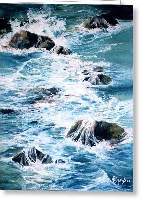 Maui Shoreline 3 Greeting Card