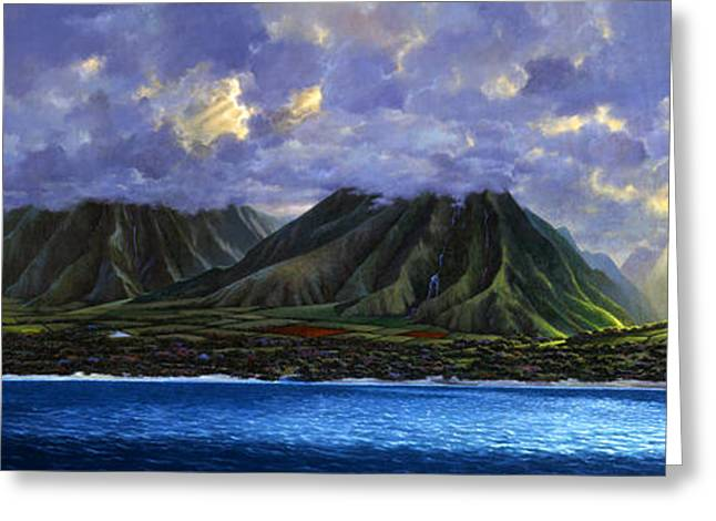 Maui Splendor Greeting Card