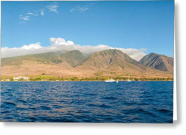 Maui's Southern Mountains   Greeting Card