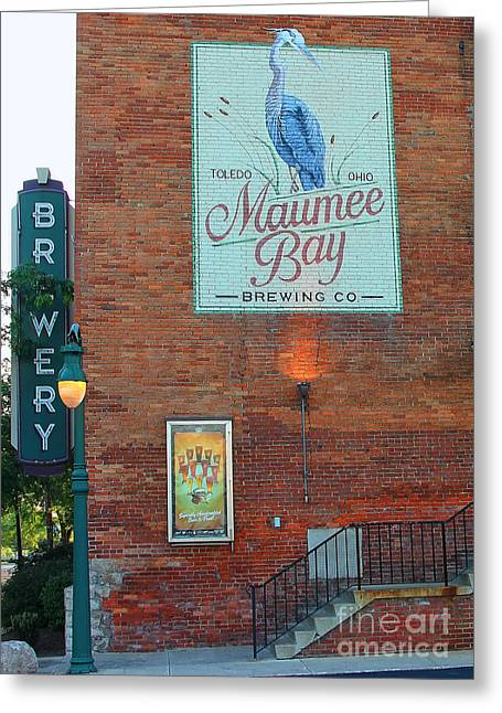 Maumee Bay Brewing Company 2135 Greeting Card
