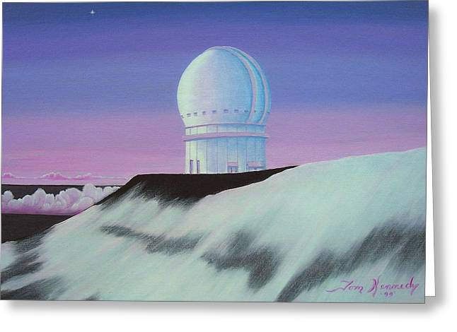 Mauna Kea In The Morning Greeting Card