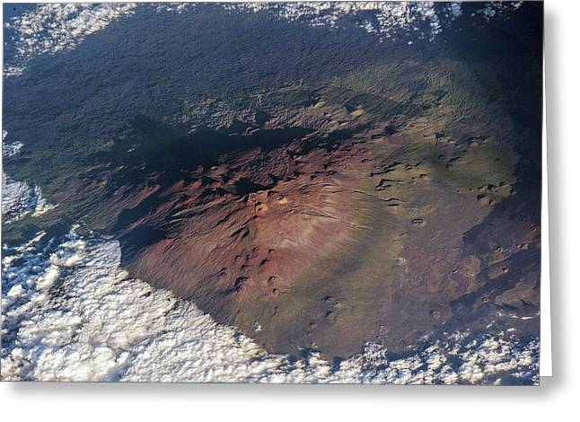 Mauna Kea Greeting Card by Nasa