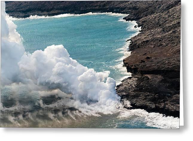 Mauna Loa Greeting Card
