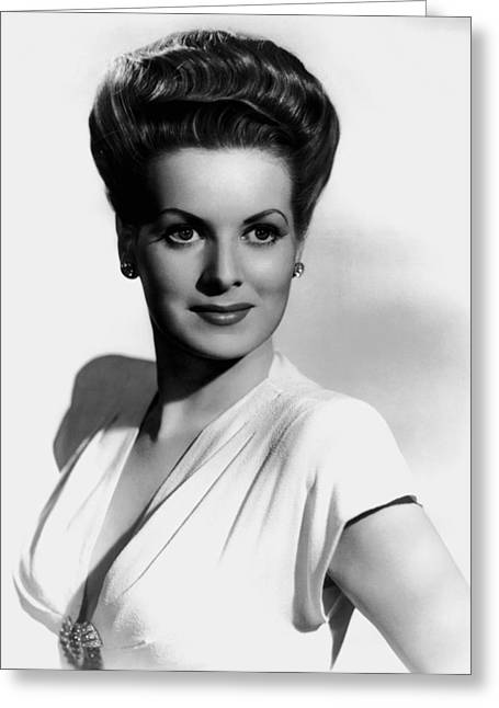 Maureen O'hara Greeting Card by Mountain Dreams