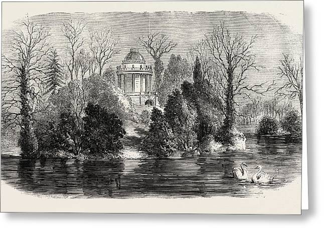 Mausoleum At Frogmore Intended For The Reception Greeting Card by English School