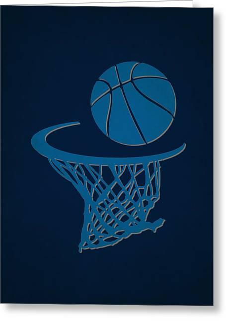 Mavericks Team Hoop2 Greeting Card by Joe Hamilton