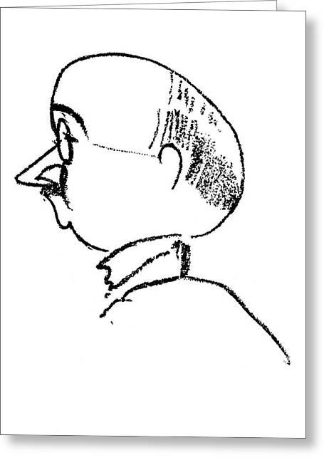 Max Eitingon (1881-1943) Greeting Card