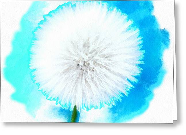 May Your Wish Come True Greeting Card by Krissy Katsimbras