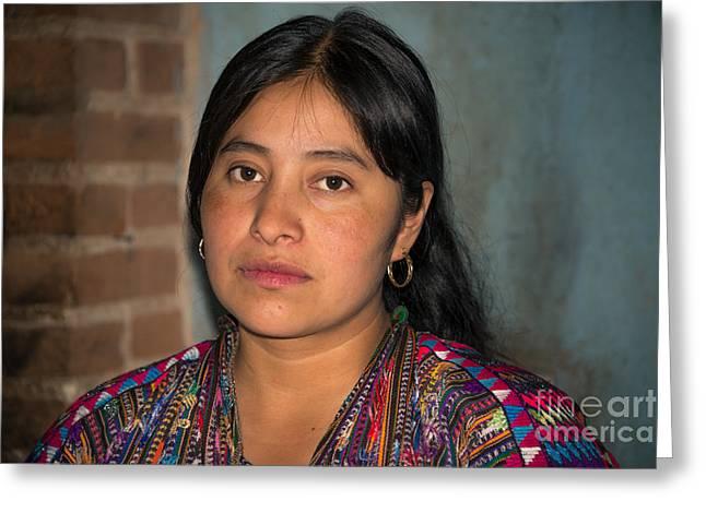 Mayan Girl Greeting Card