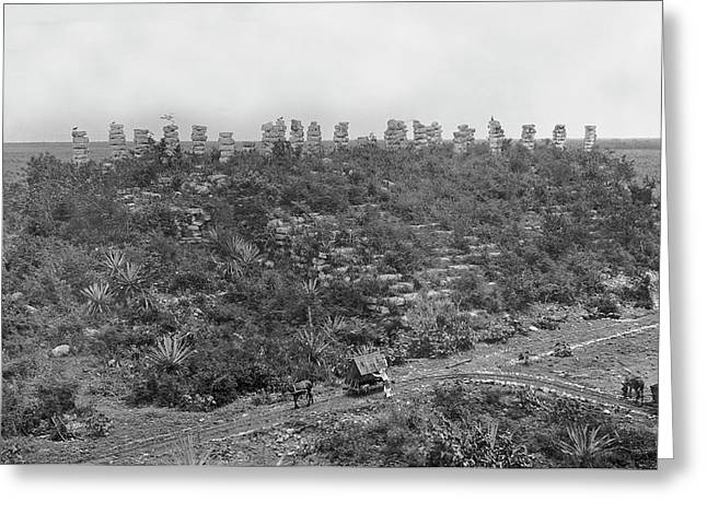 Mayan Ruins Greeting Card by American Philosophical Society