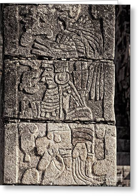 Mayan Warrior Greeting Card