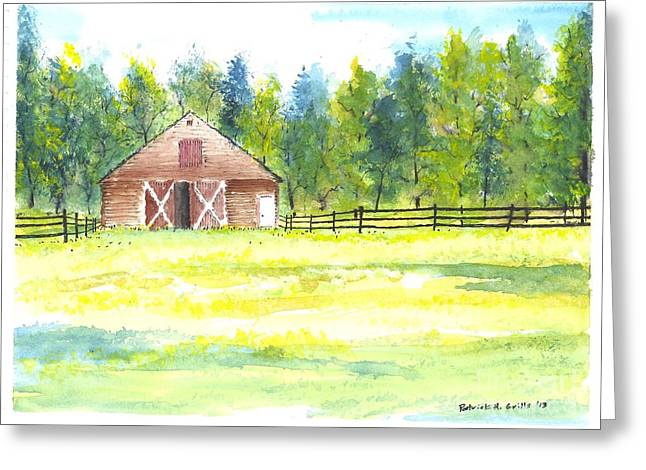 Mayberry's Barn Greeting Card