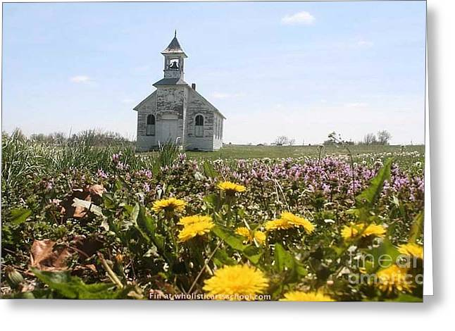 Mayflower Church Greeting Card
