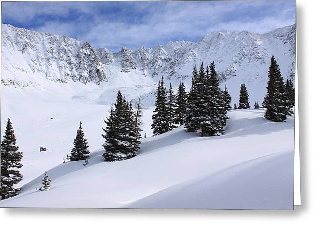 Mayflower Gulch Greeting Card by Eric Glaser