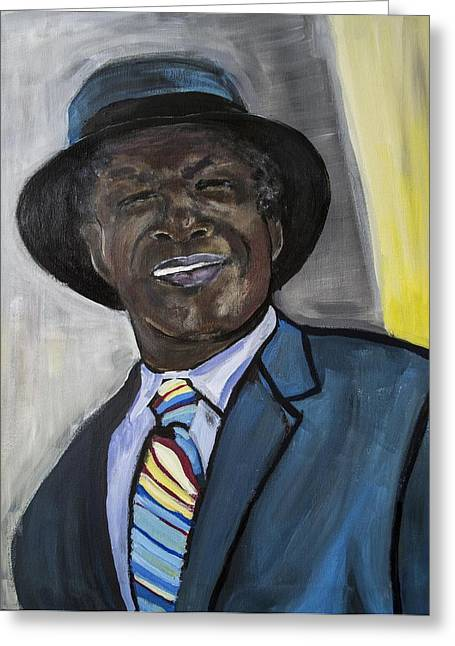 Mayor For Life  Greeting Card by Luther Wright