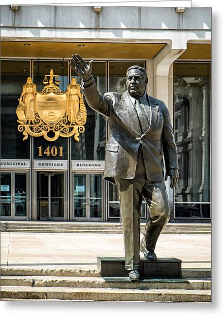 Mayor Frank L. Rizzo Monument Greeting Card
