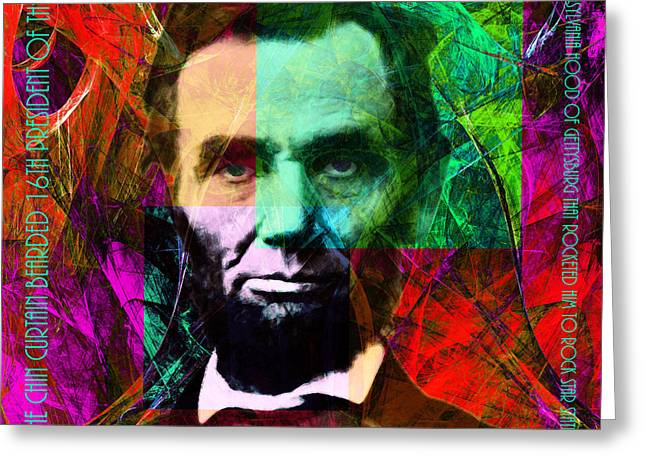 Mc Abe The Broham Lincoln 20140217m28 Greeting Card by Wingsdomain Art and Photography