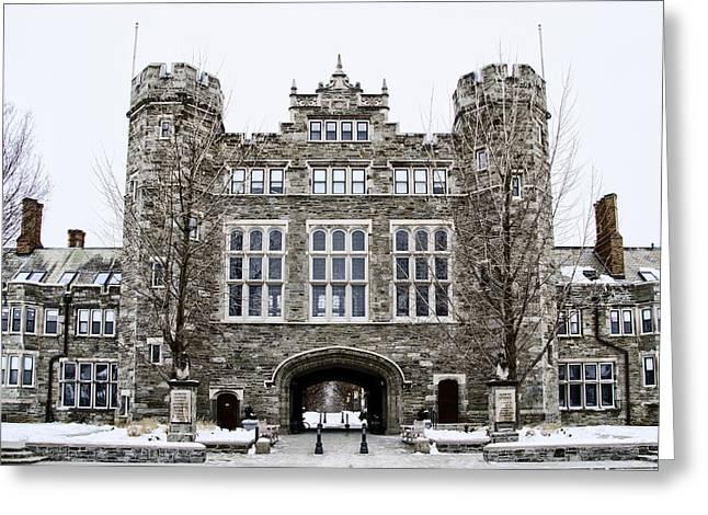 Mcbride Gateway - Bryn Mawr College Greeting Card by Bill Cannon