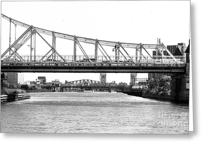 Mccombs Dam Bridge New York City Greeting Card