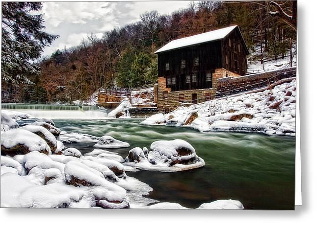 Mcconnell's Mill Greeting Card by Marcia Colelli