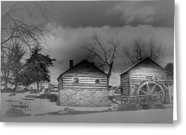 Mccormick Farm 2 Greeting Card by Todd Hostetter