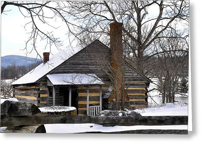 Mccormick Farm 5 Greeting Card by Todd Hostetter