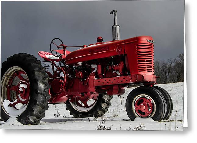 Mccormick Farmall 2 Greeting Card