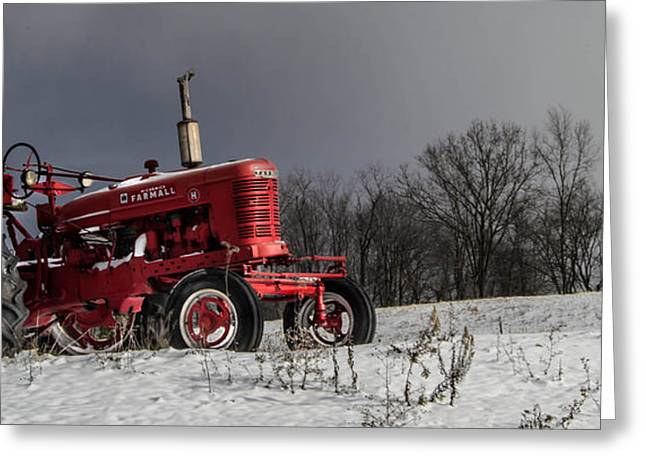 Mccormick Farmall Greeting Card