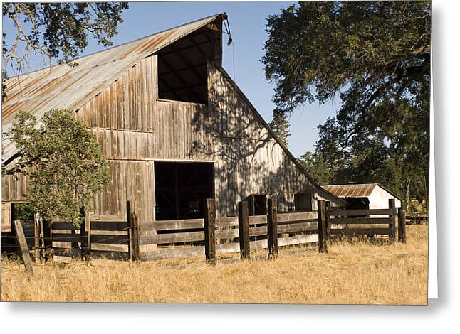 Mccourtney Barn  Greeting Card