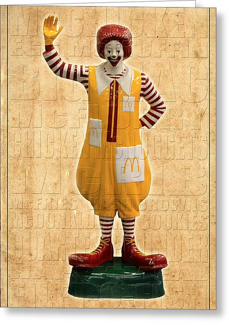 Mcdonald's Greeting Card by Andrew Fare