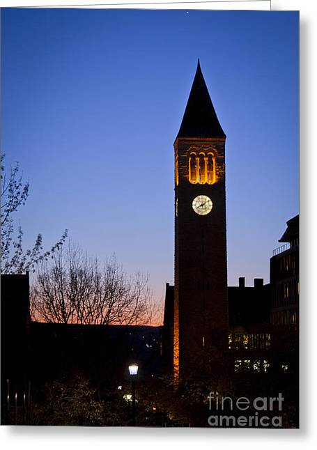 Mcgraw Tower Cornell University Greeting Card
