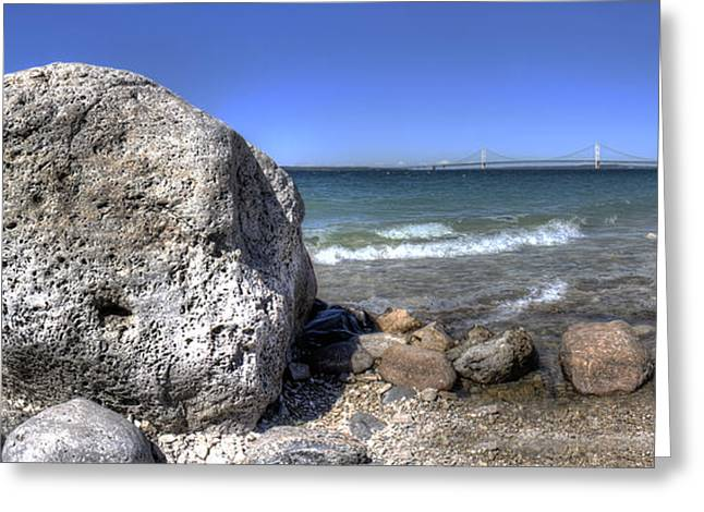 Mcgulpin Rock Greeting Card by Twenty Two North Photography