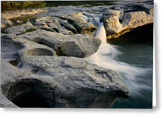 Mckinney Falls Greeting Card