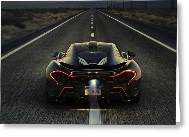 Mclaren P1 2014 Greeting Card