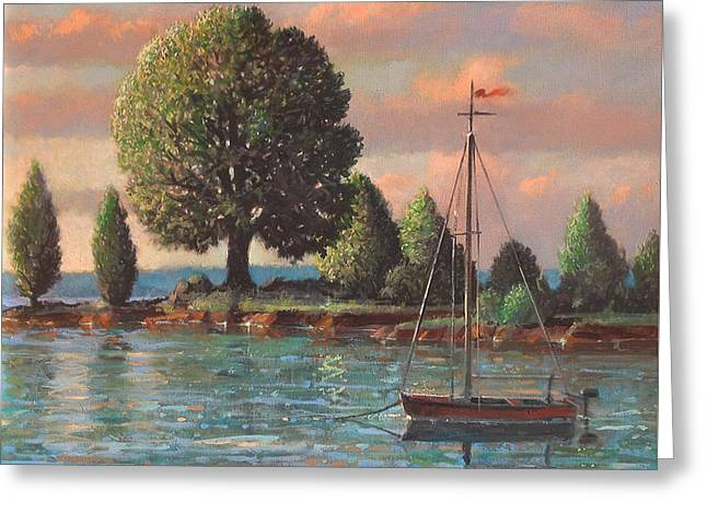 Mcmeekins Point Greeting Card