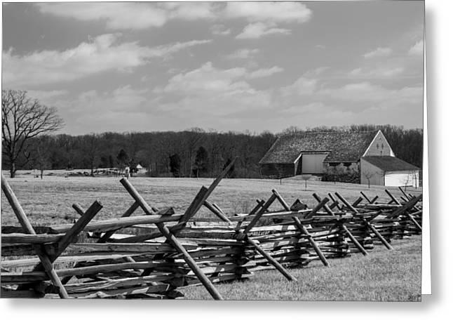 Mcpherson's Barn At Gettysburg Greeting Card