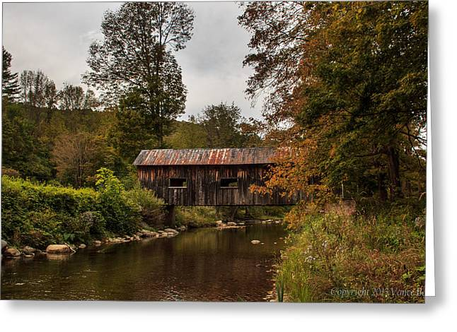 Mcwilliams Covered Bridge Greeting Card
